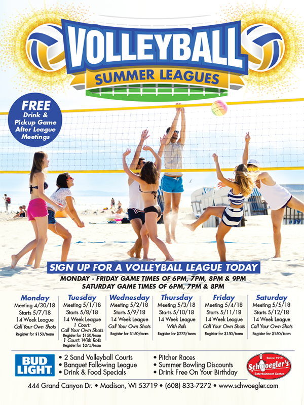 2018 Volleyball Leagues Madison