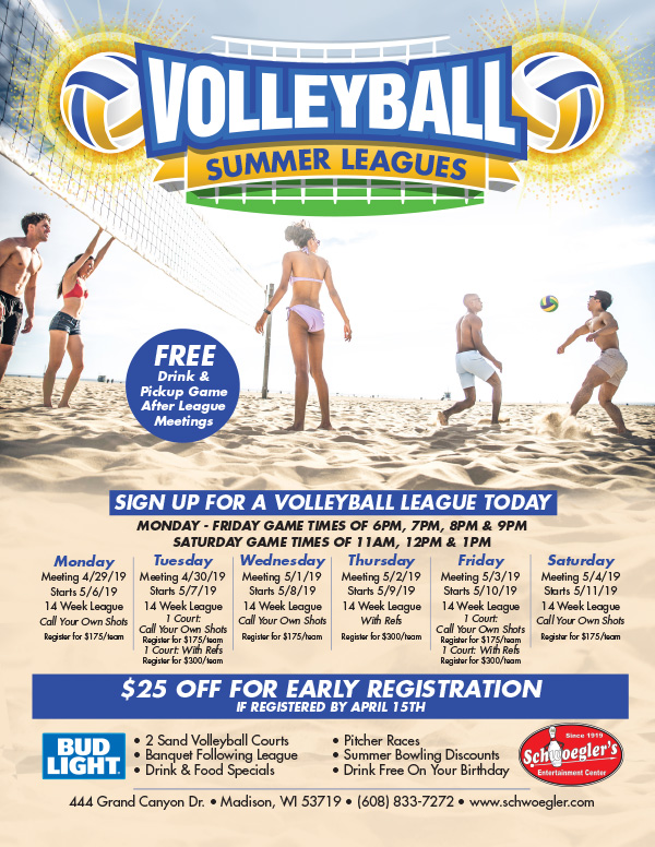 Summer Volleyball Leagues